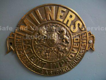 Milners safe badge