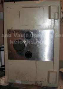 Electronic safe lock failed on an SLS safe