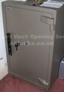 opening a locked tann safe and providing new keys