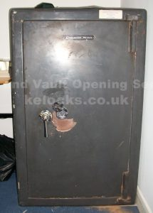 Chatwood Milner Merlin safe opened by Jason Jones of Key Elements