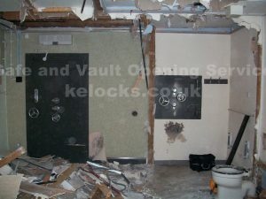 Chatwood Milner vault opened by Jason Jones of key Elements