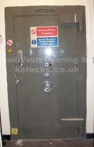 Chatwood vault door opened by Jason Jones of Key Elements