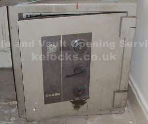 Chubb Conqueror safe opened by Jason Jones of Key Elements