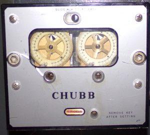 Chubb time lock safe upgraded by Jason Jones of Key Elements