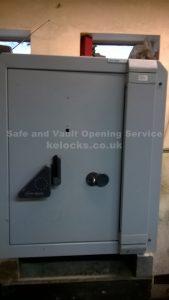 Fichet Silver safe opened by Jason Jones of Key Elements
