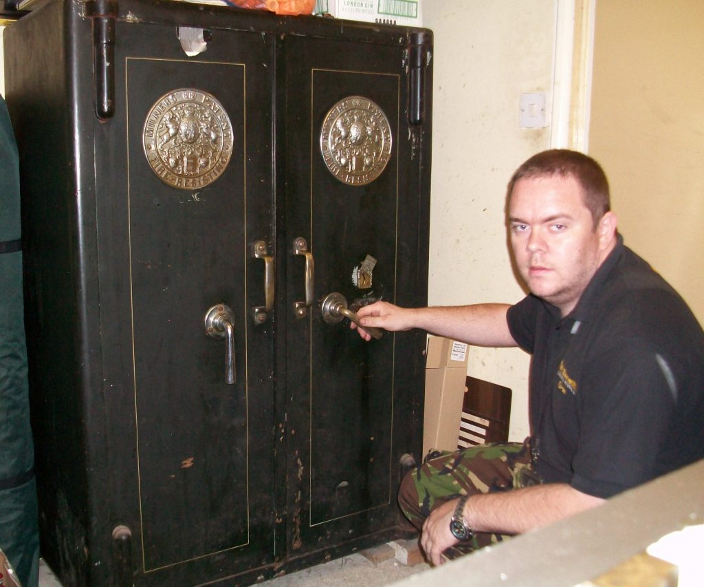 Jason Jones, safe cracker, Key Elements Locksmiths safe opening
