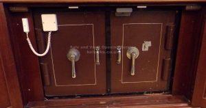 Milner double door safe opened by Jason Jones of Key Elements
