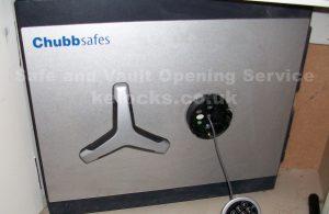 Chubb safe picked open by Jason Jones of Key Elements