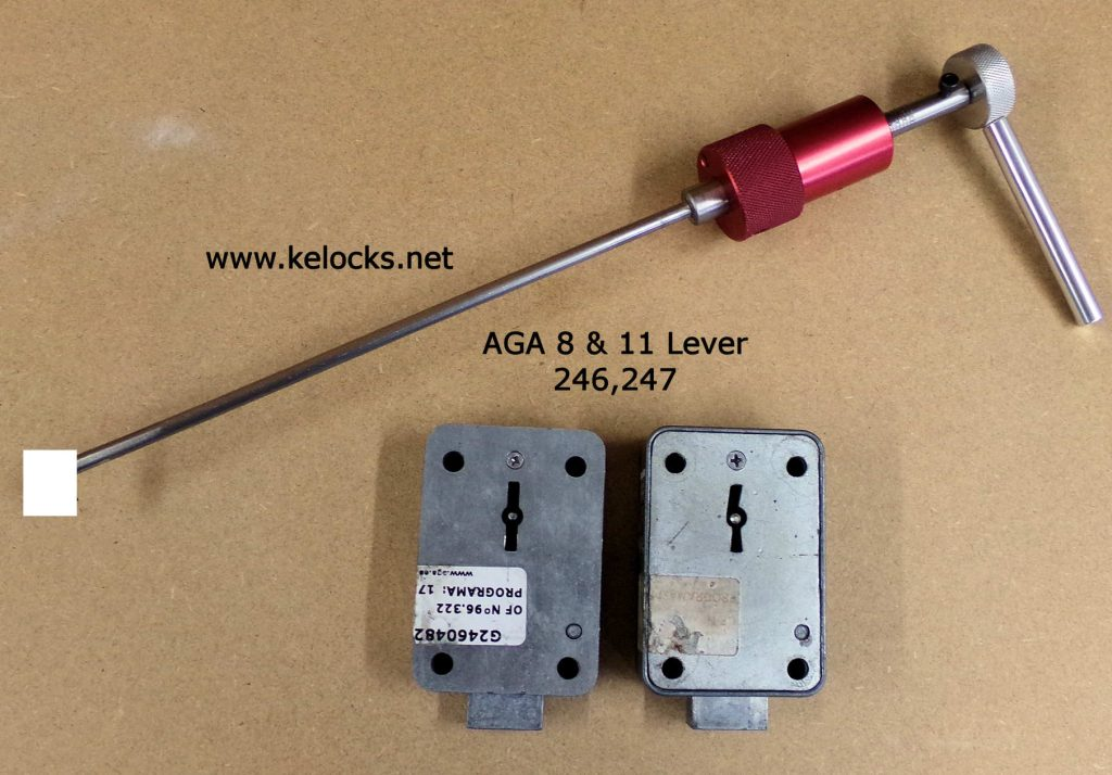 AGA 246 & 247 Safe Lock Picks