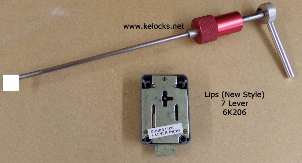 Chubb Lips 6K206 Safe Lock Pick
