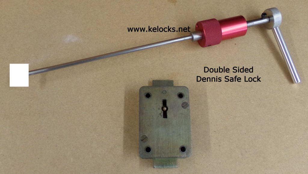 Double Sided Safe Lock Pick