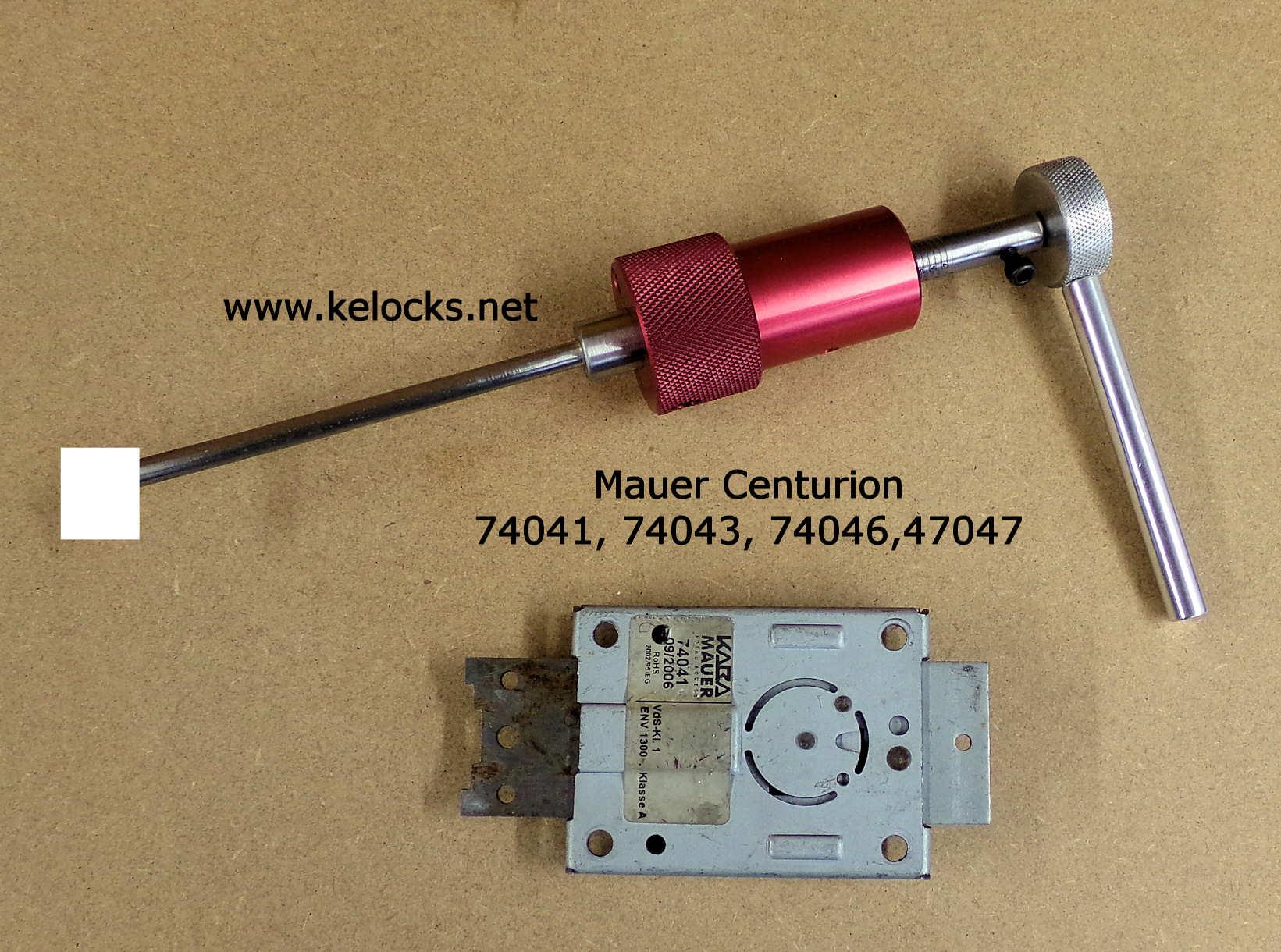 KABA Mauer Centurion Safe Lock Pick 74041, 74043, 74046, 74047
