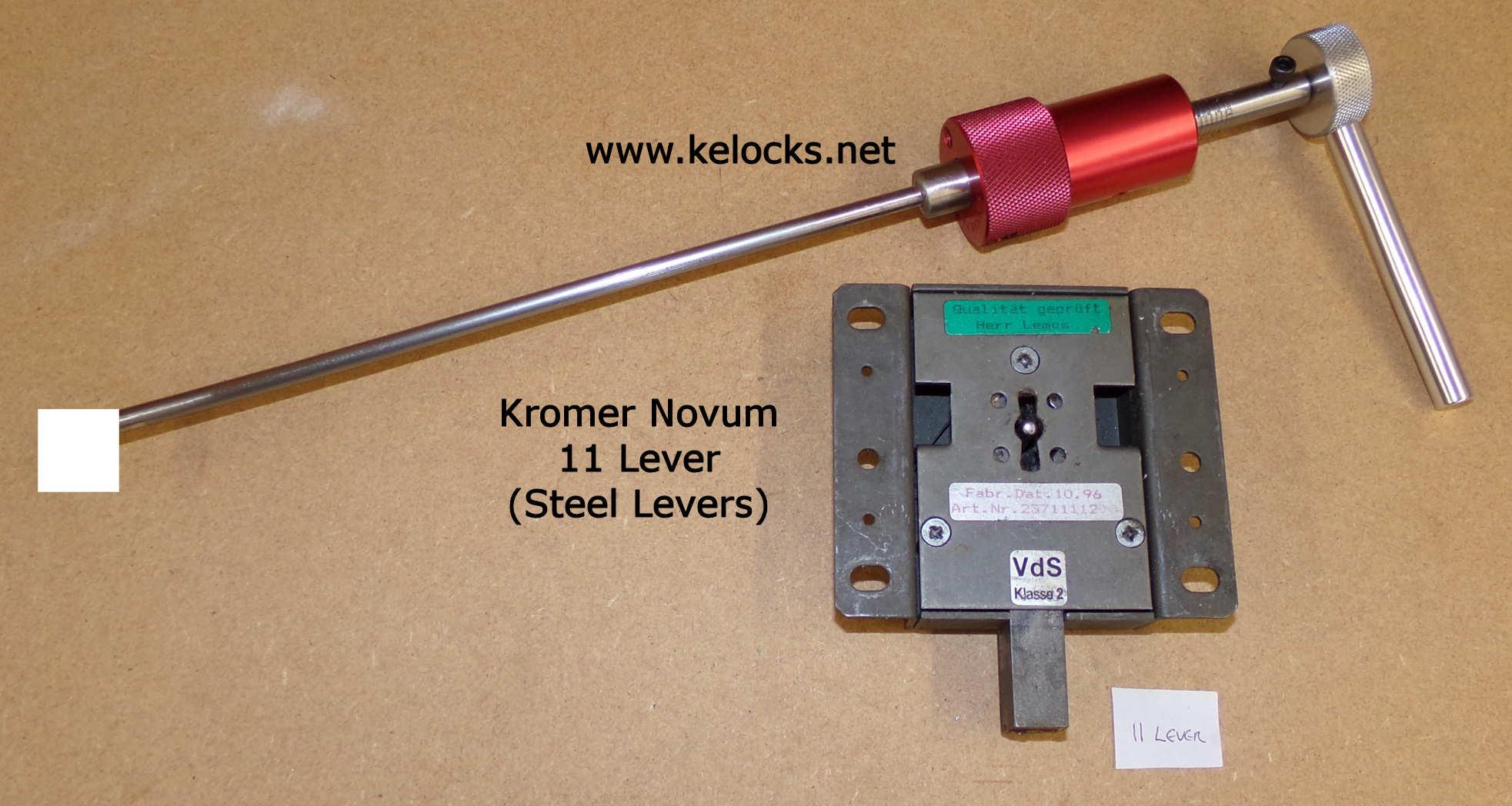 Kromer Novum 11 Lever Safe Lock Pick