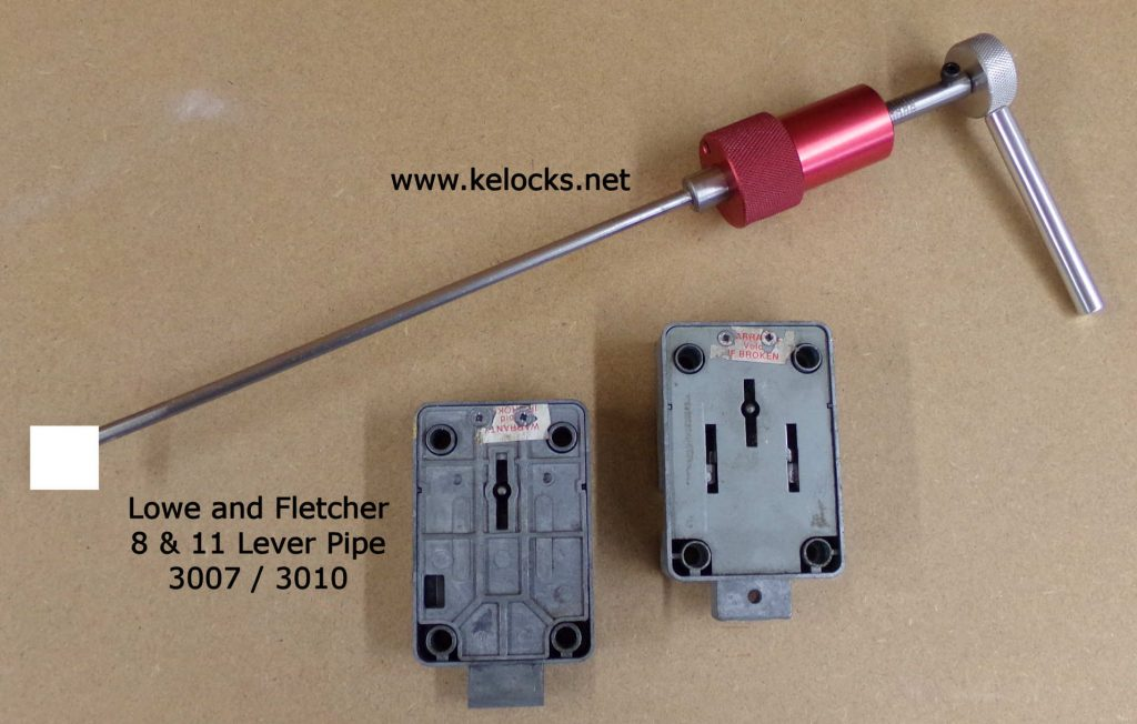LF 3007 8 Lever and LF 3010 11 Lever safe lock pick