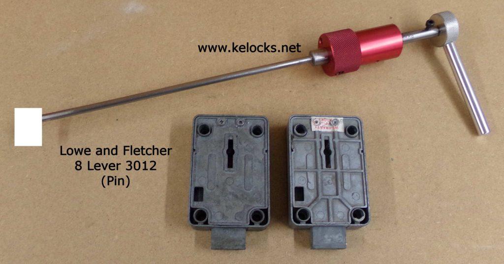 LF 3012 safe lock pick 8 Lever (Pin Type Key)