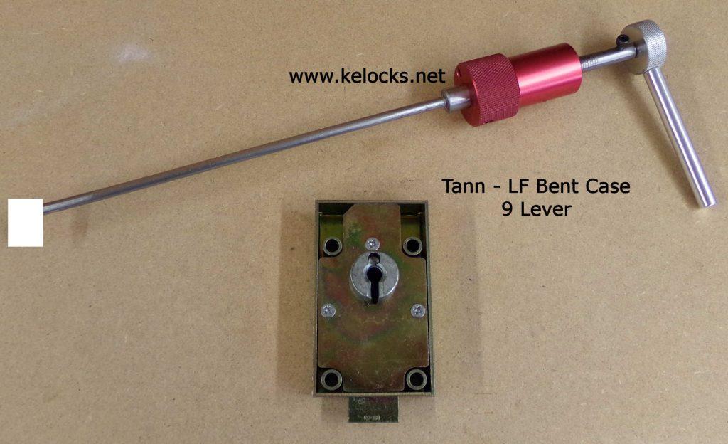 LF Bent Case - Tann 9 Lever Safe Lock Pick