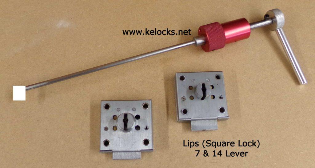 Lips Square Safe Lock Pick