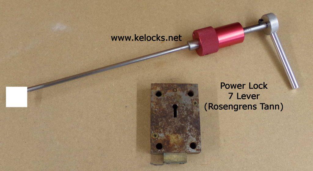 Power Lock Rosengrens Tann Safe Pick