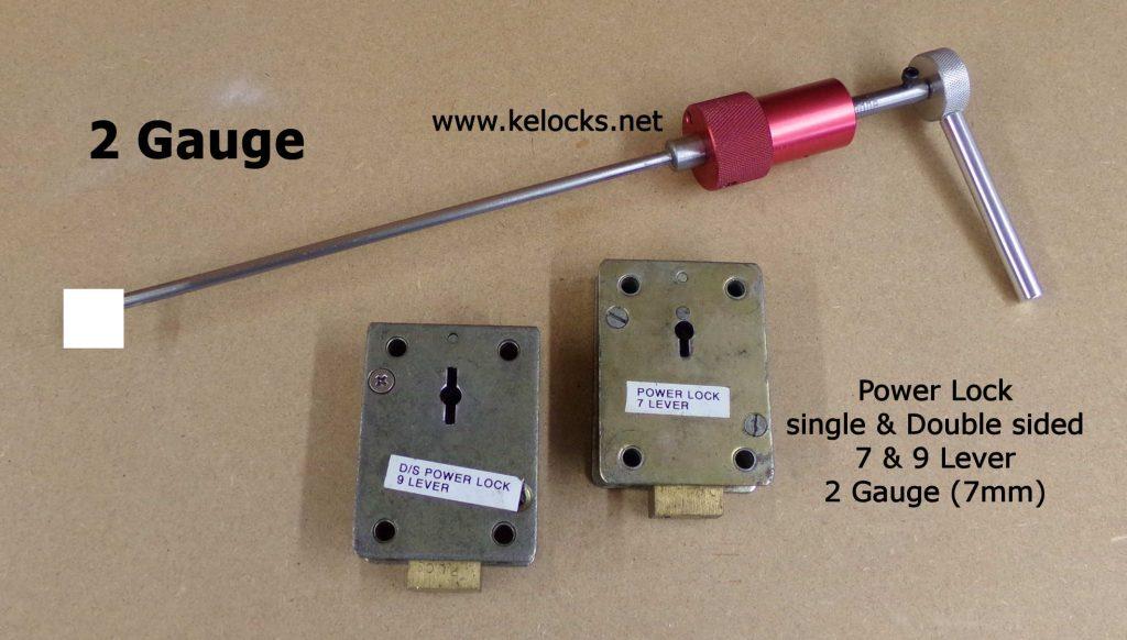 Power Lock Safe Pick - 2 Gauge