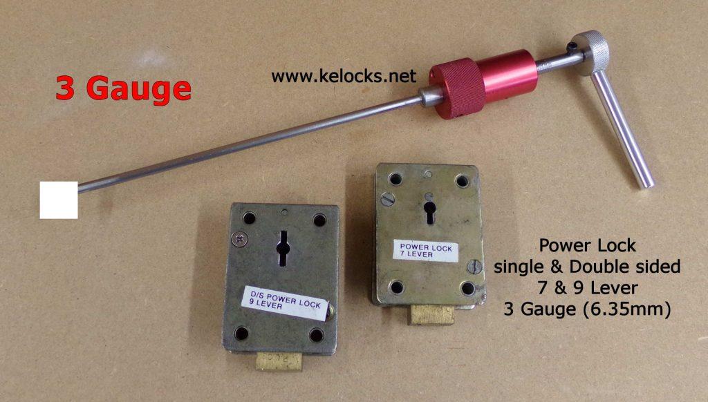 Power Lock Safe Picks - 3 Gauge