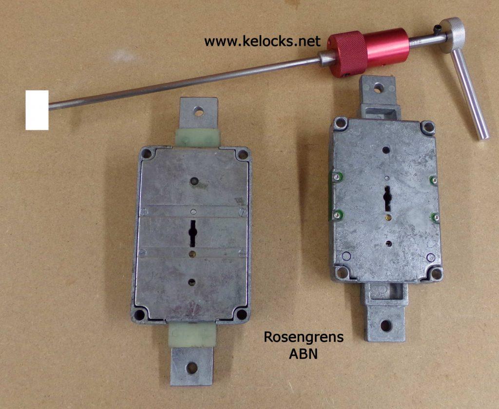 Rosengrens ABN Safe Lock Pick (New & Old)