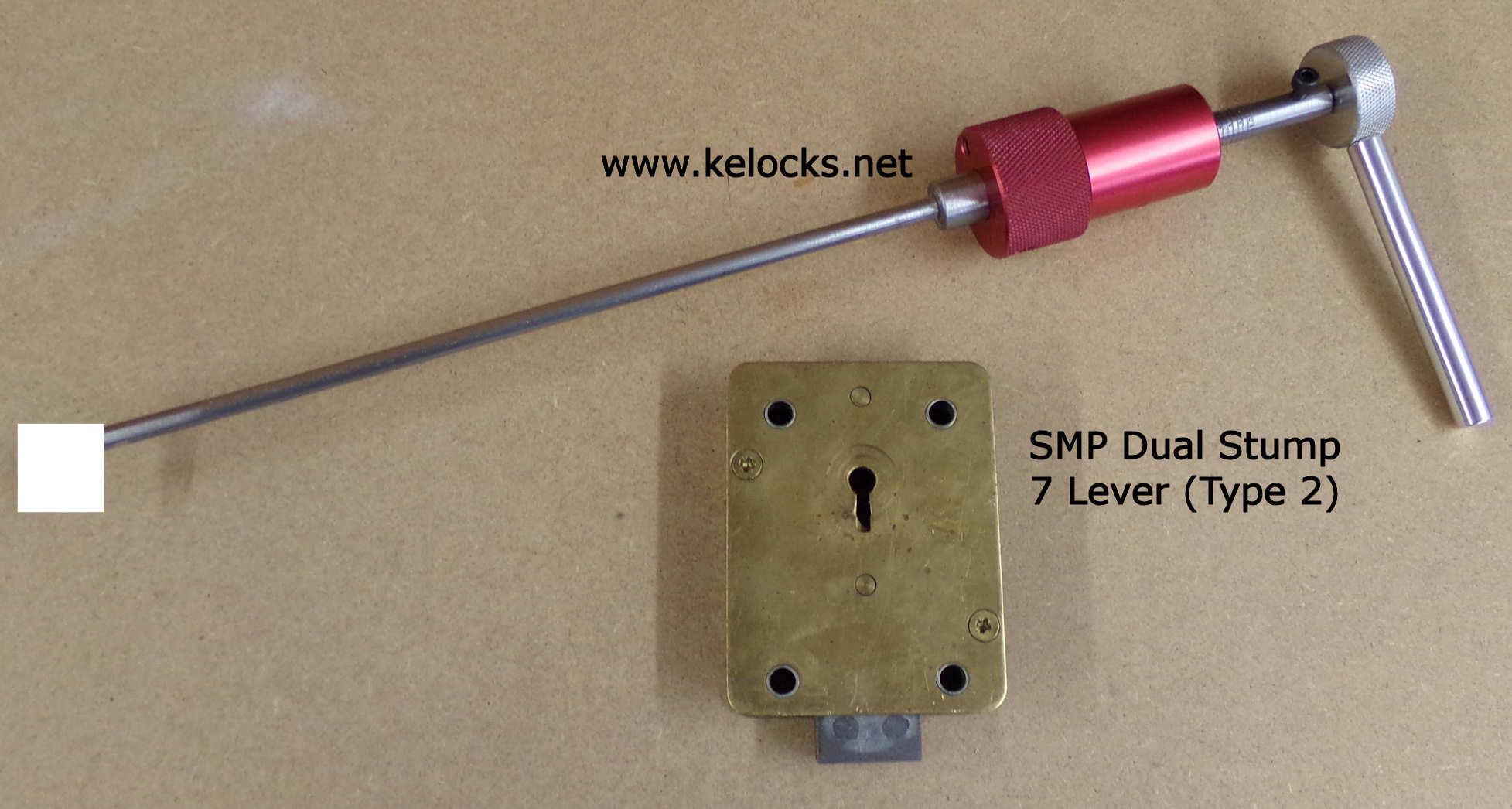 SMP 7 Lever Dual Stump Safe Lock PIck (Type 2)