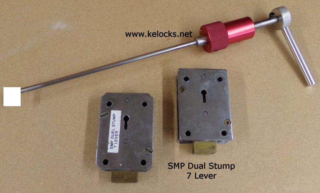 SMP 7 Lever Dual Stump Safe Lock Pick (Type 1)