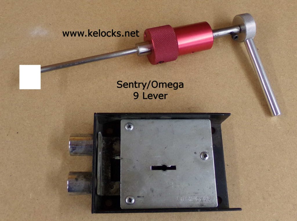 Sentry Omega 9 Lever Safe Lock Pick