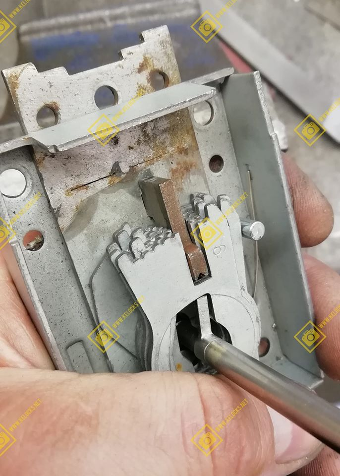 Safe Lock Pick Made and Tested