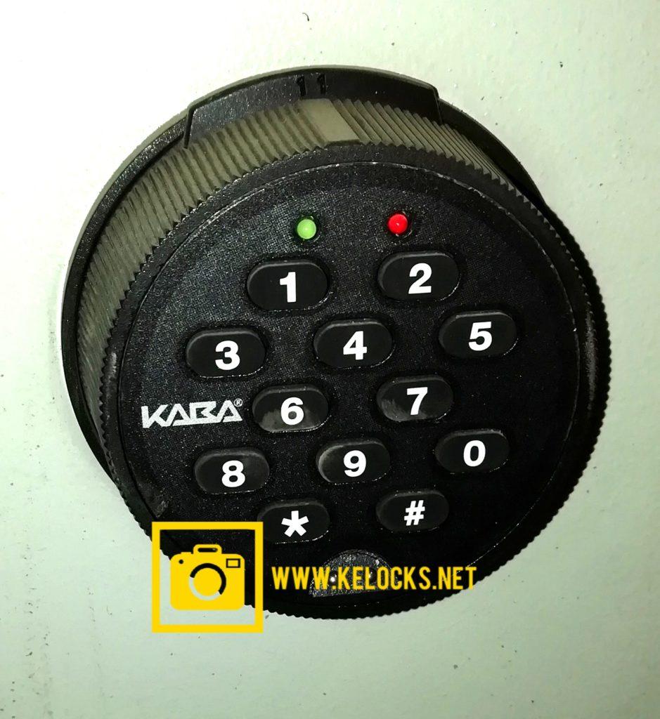 Kaba Auditcon 252 & 552 safe lock opening