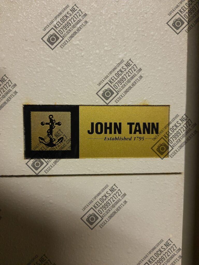 John Tann and Later Tann Safes