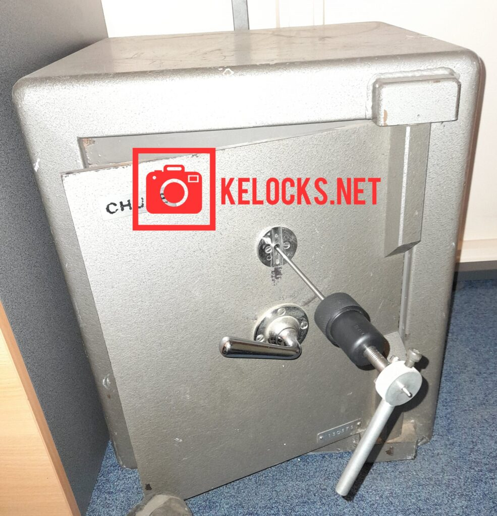 Chubb Safe with Lost Keys